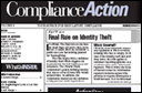 Compliance Action Newsletter